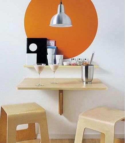 小编推荐:经济实用的小户型房子餐桌椅
