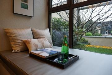 新古典低调样板间欣赏卧室飘窗