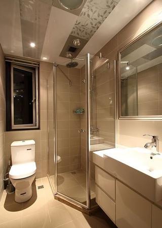 温馨婚房装修两居室欣赏卫生间