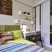 可爱卧室衣柜设计效果图 可爱的儿童房