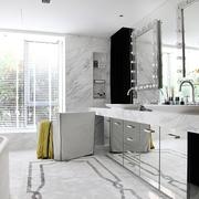 欧式风格效果卫生间台面