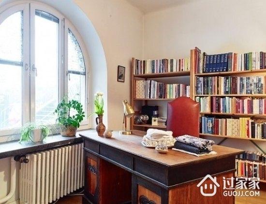 70平二居室装修 简洁沉稳的欧式住宅