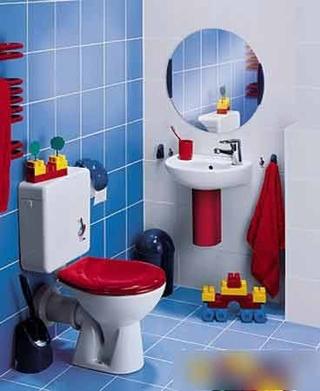 10款儿童浴室设计 超级欢快