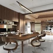 现代简约风公寓套图餐厅