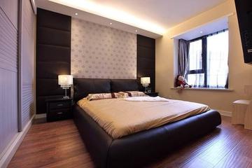 卧室背景墙装修效果图 简约不简单