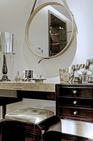 新古典风格住宅装饰套图卧室梳妆台