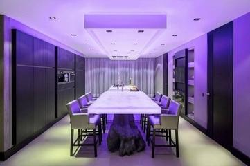 简约舒适暗黑复式欣赏餐厅设计