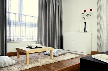 116平现代舒适三居欣赏客厅局部