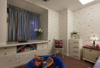 160平田园温馨别墅欣赏儿童房设计