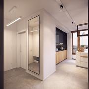 简约风格单身公寓套图背景墙设计