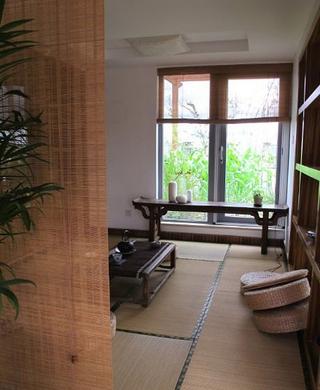 117平中式风格家居欣赏卧室