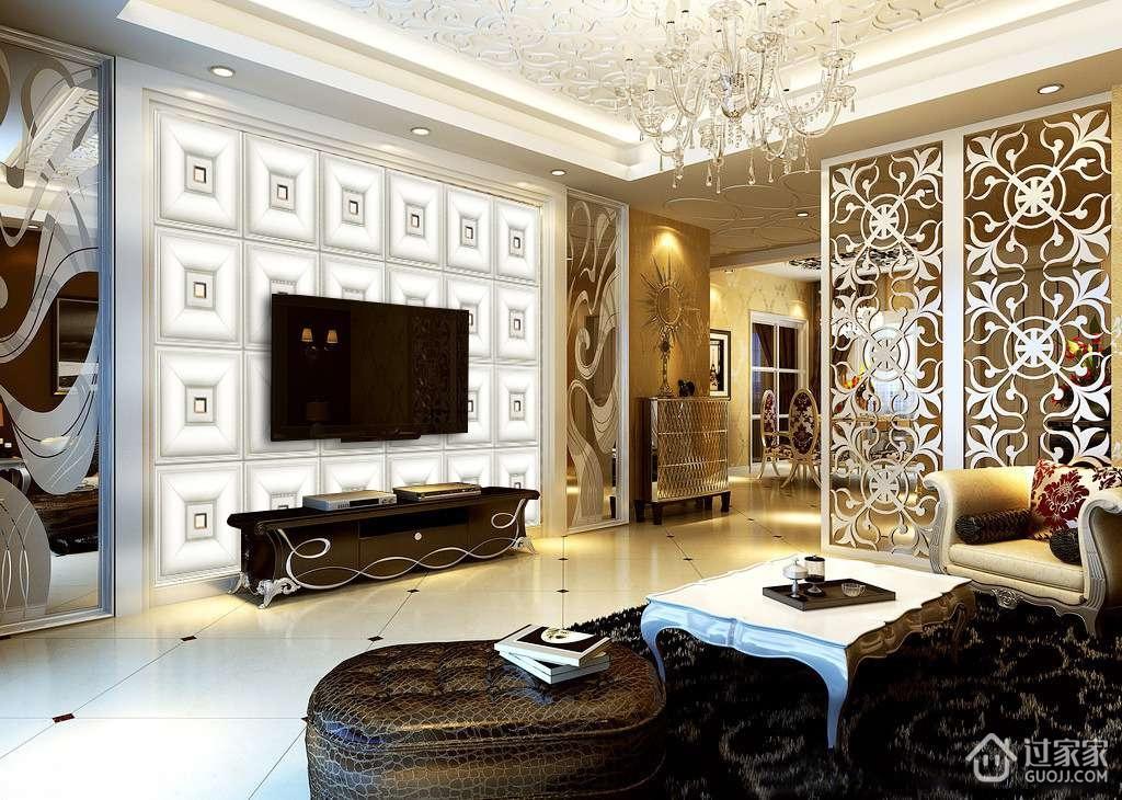 欧式浮雕电视背景墙的五大特点