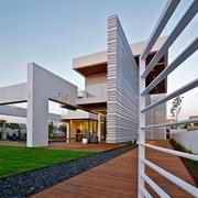 现代豪华别墅设计墙面装饰