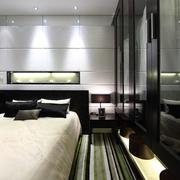 现代住宅公寓床品摆件