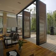 豪华现代风客厅户外效果图