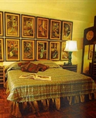 86平东南亚效果图欣赏卧室陈设
