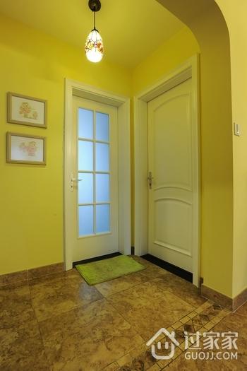 家居白色门