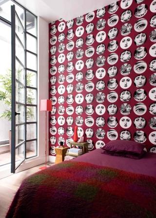 旧仓库改造现代住宅欣赏卧室