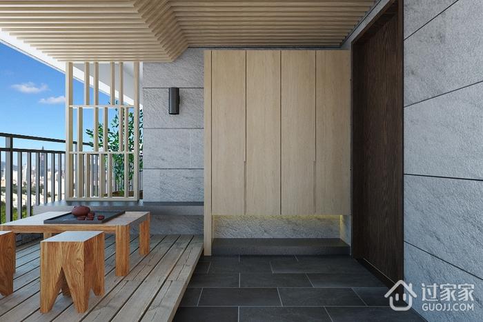 白色现代风格案例欣赏阳台设计
