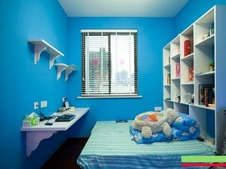85平地中海浪漫住宅欣赏卧室摆件