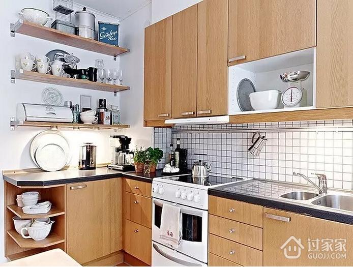 厨房太小就该这么设计 不看别悔断肠
