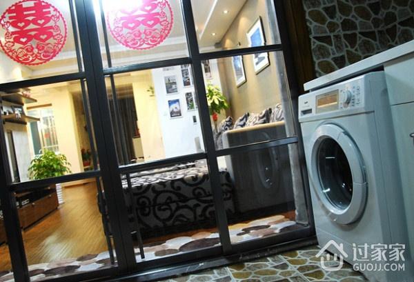 82平简约温馨住宅案例欣赏室内门