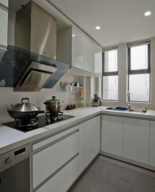 厨房橱柜装修效果图 完美家装