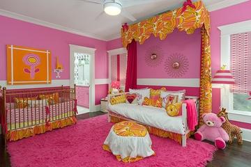 亮丽多彩北欧住宅欣赏儿童房