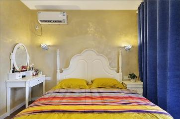 125平地中海温馨住宅欣赏卧室