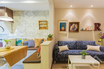 50平米现代小户型欣赏餐厅设计