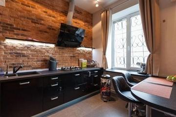 57平红砖主题住宅欣赏厨房
