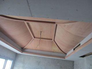 弧形吊顶这样安装50年不开裂,木工师傅的活太好了!