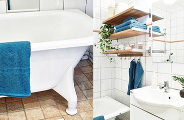白色宜家风情公寓欣赏卫生间设计