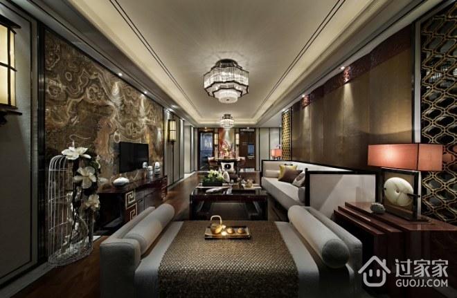 中式经典深色住宅欣赏