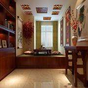 11万打造中式风住宅欣赏过道陈设