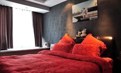 70平简约新房两居室欣赏卧室飘窗