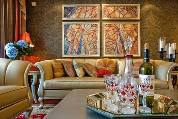 典雅法式装饰住宅欣赏客厅设计