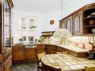 欧式复古住宅两居室欣赏