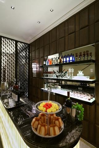 115平简欧风格样板间欣赏厨房