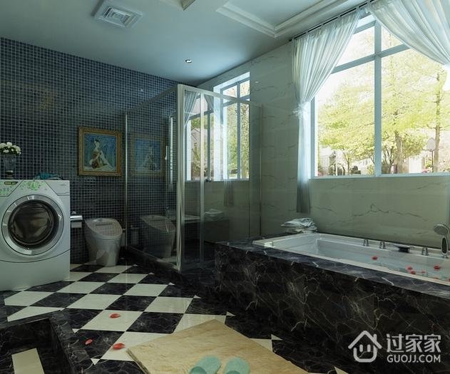 奢华新古典四居室欣赏卫生间局部