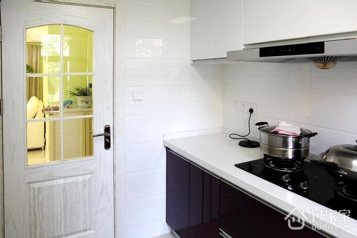 简约小清新住宅欣赏厨房室内门