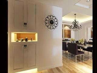 107平现代三室住宅欣赏玄关鞋柜
