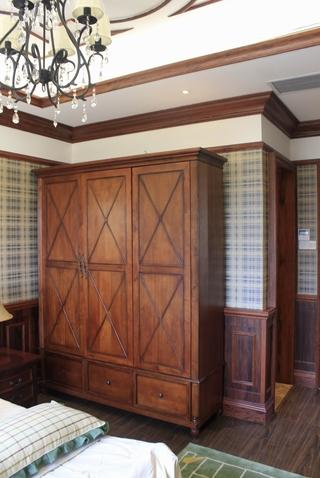 欧式别墅装饰套图卧室衣柜设计