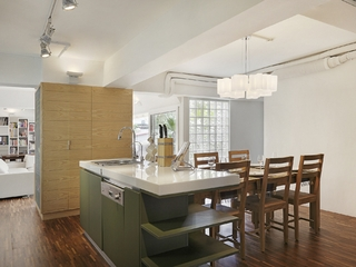 宜家效果图设计住宅套图厨房设计