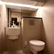 现代简约风格装修套图卫生间