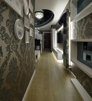 82平现代三居室温馨之家客厅吊顶