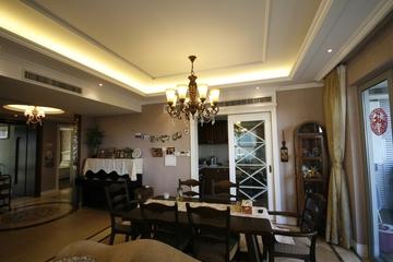 混搭温馨两居室欣赏餐厅吊顶