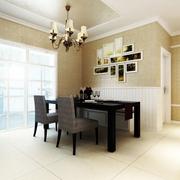 简约美式三居室装修案例