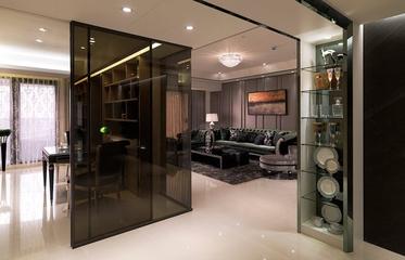 美感聚焦新古典住宅欣赏过道效果
