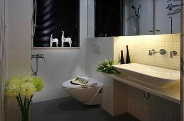 简约舒适小两居住宅欣赏卫生间窗户
